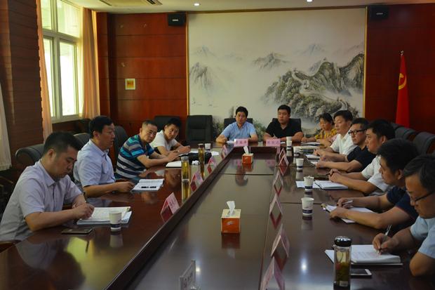 市领导李玉平来全调研指导乡镇纪检监察工作协作区推进情况